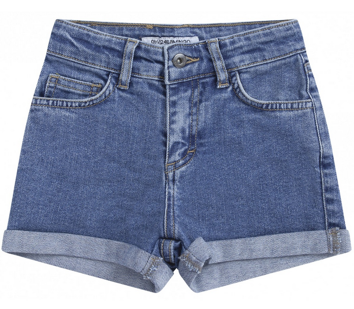 Mingo - short denim blue