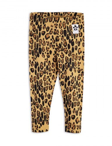 Mini Rodini - Basic leopard legging - Beige