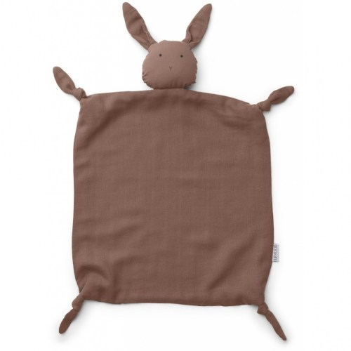 Liewood - knuffeldoek agnete rabbit dark rose