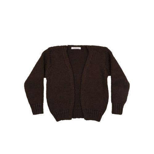 Mingo - Knit Cardigan bitter chocolate