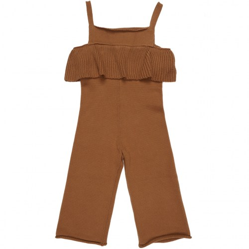 Maed for mini - Busy bear knit jumpsuit