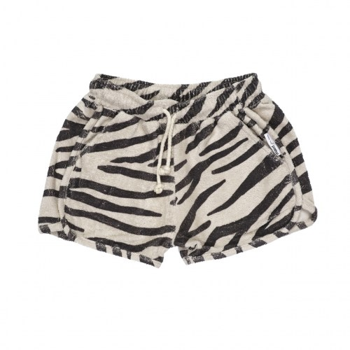 Maed for mini - Smiling zebra short