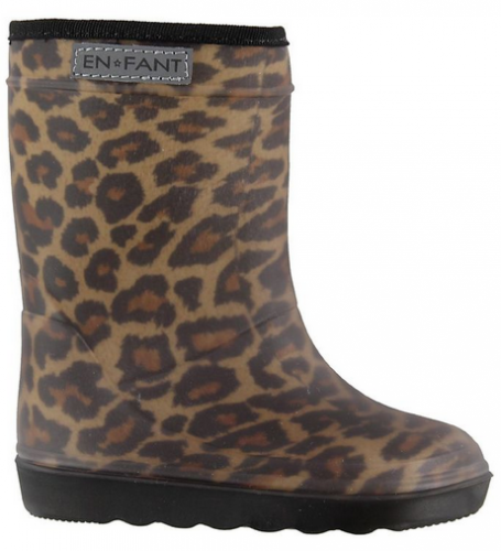 Enfant - Thermo winter laarzen leopard
